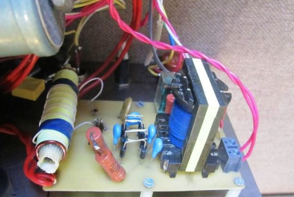 схема осциллятора на плате