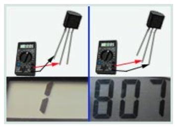 Определение базы на транзисторе