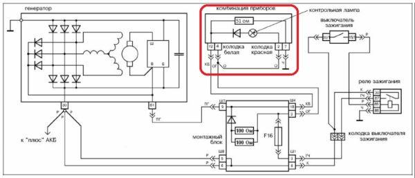 контроль уровеня заряда аккумуляторной батареи