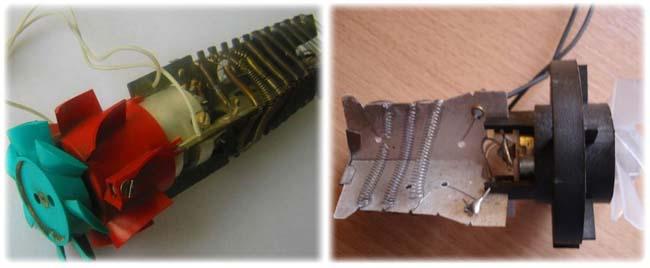 вентилятор для обдува накаленных спиралей
