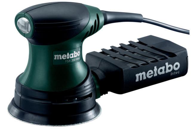 эксцентриковая шлифмашинка Metabo FSX 200