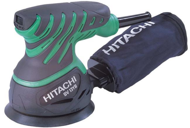 эксцентриковая шлифовальная машинка Hitachi SV13YA