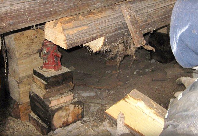 Подъем деревянных домов своими руками 4
