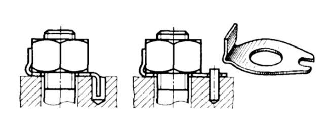 ступичная гайка механический фиксатор резьбы