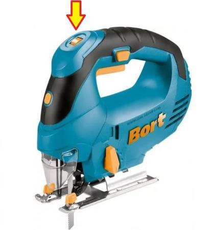 регулировка скорости реза электролобзика Bort