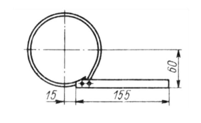 чертеж простого съемника для масляного фильтра