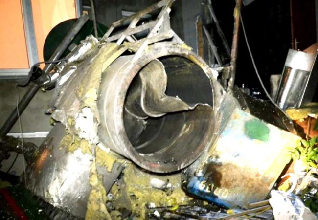 котел после взрыва