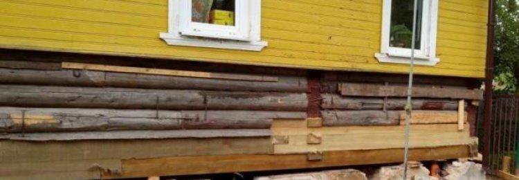 Можно ли поднять дом домкратом своими руками?