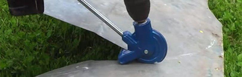 Насадка на дрель для резки металла – механизируем непростую операцию