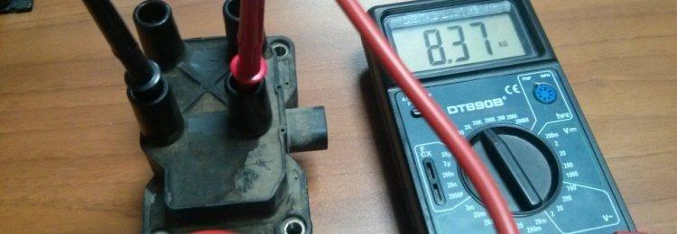 Как проверить мультиметром катушку зажигания — видео примеры различных способов