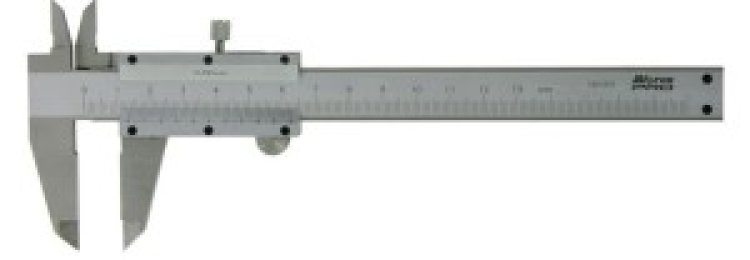 Как правильно позиционировать штангенциркуль при снятии размеров?