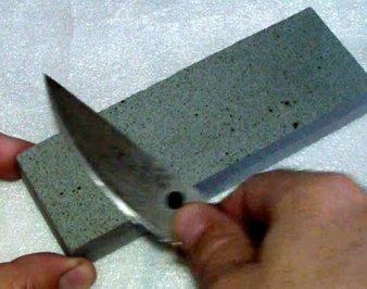Как правильно точить ножи бруском — видео рекомендации