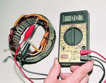 Как проверить генератор мультиметром: ремонт и обслуживание своими руками