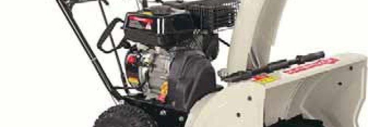 Снегоуборочные машины для дачи — бензиновые