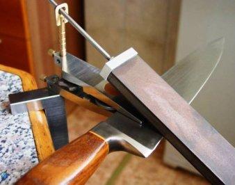 Станки для заточки ножей — ручные и электрические