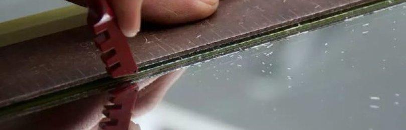 Фигурная резка стекла — как научиться, и какие нужны инструменты?