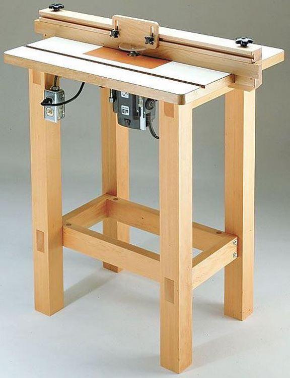 Самодельный стол из брусков