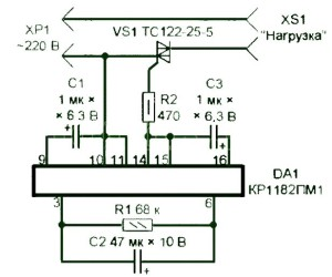 электросхема плавного пуска