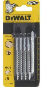 Пилки DeWALT DT2216-QZ для лобзика