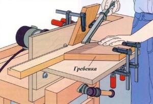 стол для фрезеровки ласточкиного хвоста
