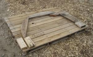 деревянный шаблон для гиба труб