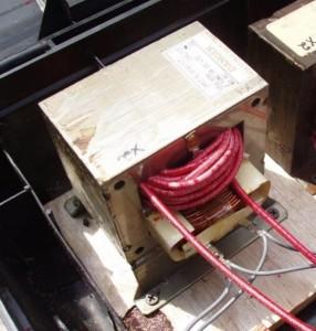 Силовой трансформатор от микроволновки