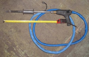 Пистолет споттера с электродом