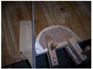 деревянный шаблон