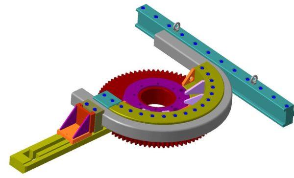 схема обкатки профильной трубы