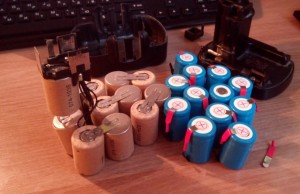 батареи аккумулятора шуруповерта
