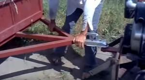 телега вместо прицепа