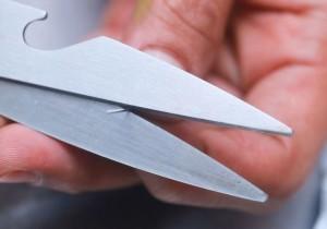 резка ножницами