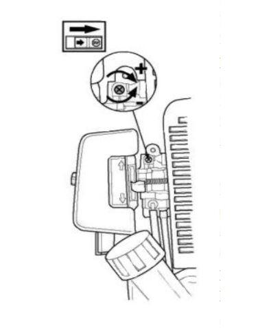 схема устройства карбюратора мотокосы