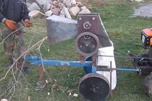 самодельный электрический измельчитель