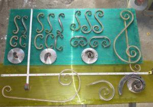 шаблоны улитка и образцы изделий