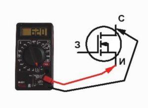 проверка транзистора мультиметром