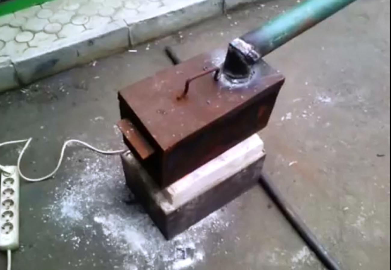 электрическая коптильня холодного копчения своими руками