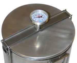 цилиндрическая коптильня горячего копчения
