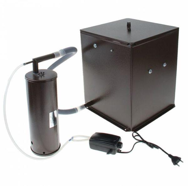 Коптилка холодного копчения с дымогенерато