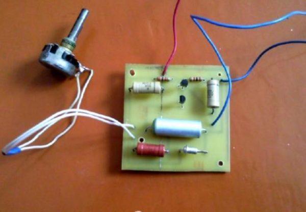 самодельный выпрямитель тока