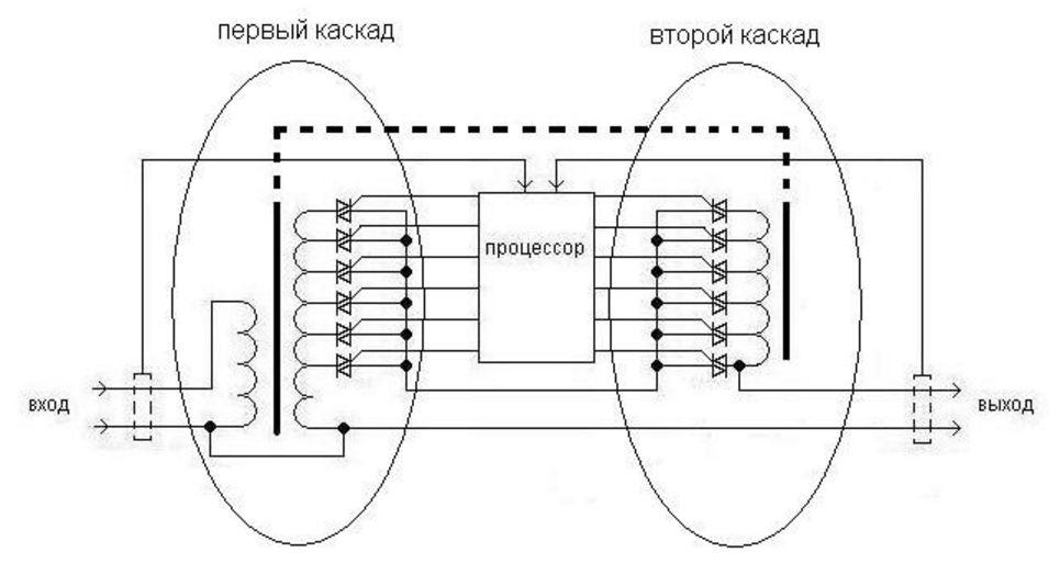 тиристорная схема стабилизатора