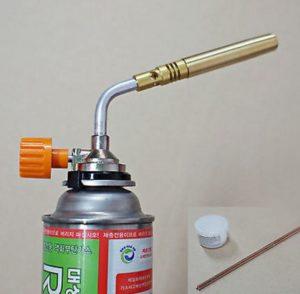 одноразовая горелка для пайки алюминия