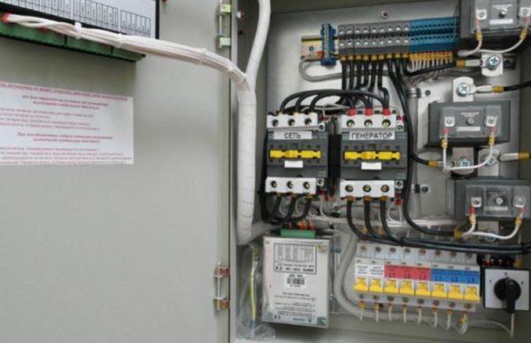 Электрощит и автоматика для бензогенеатора