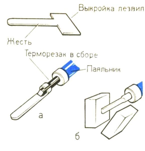 самодельный инструмент для резки пенопласта