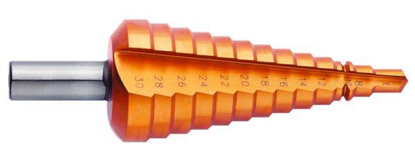 конусное ступенчатое чверло