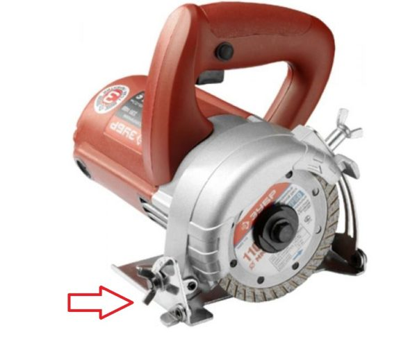наклонный механизм электрического плиткореза