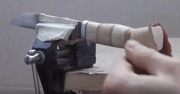 готовая рукоять ножа