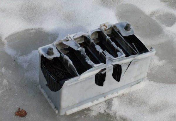 батарея взорвалась после перезарядки