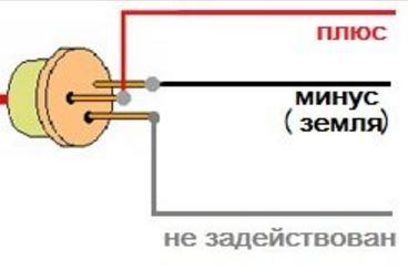 схема контактов диода