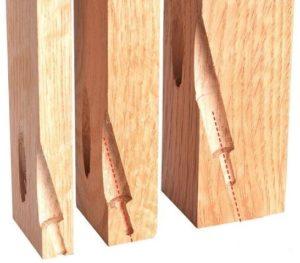 кондуктор из деревянного бруска
